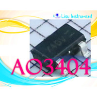 AO3404A AO3404 3404 A49T 30V 5.8A N-Channel MOSFET SOT-23