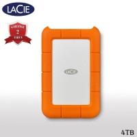 LaCie Rugged USB-C Hardisk Eksternal 4TB USB Type-C