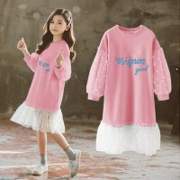 Dress anak mall casual tutu tile lucu imut perempuan princess Korea