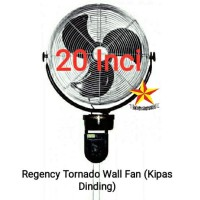 Kipas Dinding Besi Regency Tornado Wallfan 20 inci Kipas Mesjid