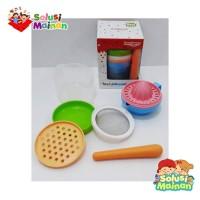 Food Maker Set Baby Food Set Alat Makan Bayi Lusty Bunny Food Set