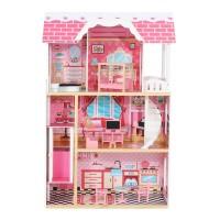 Model baru mainan Anak Gadis Rumah Barbie princess Pink untuk anak