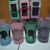 souvernir gelas/souvenir murah/souvenir pernikahan
