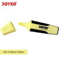 Joyko Highlighter HL-6 - Yellow Pastel