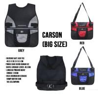 [Big Size] Polo Regio Carson Body Protector Rompi Motor - Merah