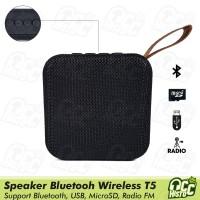 Speaker Bluetooth Wireless Mini Portable T5 JBL bisa SD card, USB, FM