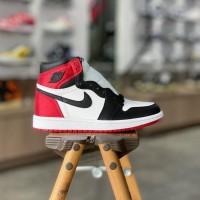 Nike Air Jordan 1 High Satin Black Toe