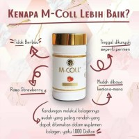 Mcoll Collagen Candy Suplemen Pemutih Kulit Rasa Strawberry