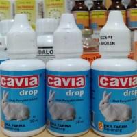 Cavia 30ml (obat flu, bersin² dan mengorok untuk hewan).