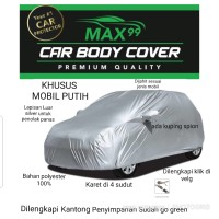 SARUNG COVER MOBIL CRV TURBO PUTIH BODY COVER COATING SILVER KLIKVELG