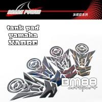 Tank Pad Set ( Tankpad + Fuelpad ) Yamaha Xabre Motif - SHARK POWER