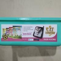 Bak Pasir Kucing Tosca Cat Comfort # Tempat Pup Kucing / Anjing Kecil