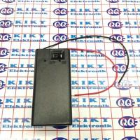 9v box battery holder with switch / kotak baterai 9v dengan saklar
