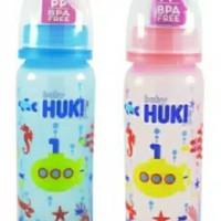 new botol huki warna BPA FREE 240 ML Botol Huki Warna 240ML