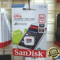 Memory Card MicroSD MIcro SD Sandisk Ultra Class 10 64GB 64 GB A1 100M
