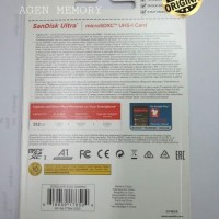 Memory card microsd Micro SD Sandisk Ultra Class 10 512GB 512 GB A1