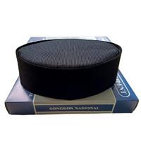 Peci Kopiah Songkok Nasional FULL AC Bludru Hitam Polos berkualitas