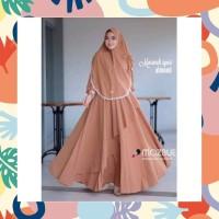 Baju gamis wanita terbaru Dress Muslim size XXL ANAYAH SYARI MAXI A49
