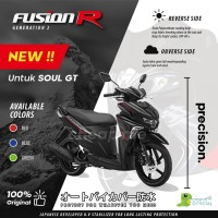 Cover Motor FUSION R GEN II Sarung Motor Soul GT Selimut Motor RACING