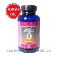 Wellness Natural Vitamin E 400 IU 60 Soft (Water Soluble) - Vitamin E