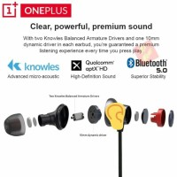 Palingmurah ONEPLUS Bullets Wireless 2 Headset Bluetooth 5.0 AptX