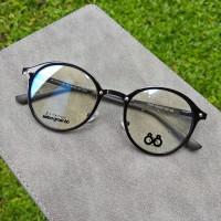 paket frame free lensa - Frame kacamata round vintage - Paket Lensa