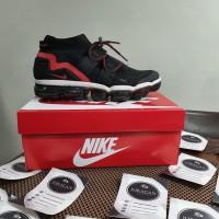 "Nike Air VaporMax Flyknit Utility Black/Habanero Red"""