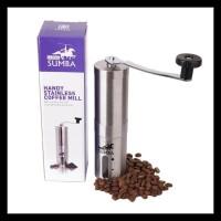 Latina Sumba- Handy Coffee Grinder Stainless Gilingan Kopi Manual