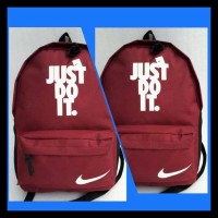 Tas Ransel Pria Wanita / Tas Punggung /Tas Sekolah / Tas Laptop Nike -