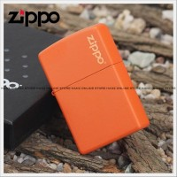 MURAH!! ZIPPO MATTE ORANGE GRADE ORI | INCLUDE BOX EKSLUSIF | POL