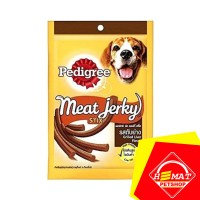 Makanan Anjing Pedigree Meat Jerky Grilled Liver - Snack Pedigree