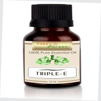 Minyak Happy Green Triple E Essential Oil (10 ml) - Minyak Pelega