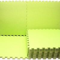 Puzzle Evamats 30 cm x 30 cm Polos Warna (Karpet Evamat)