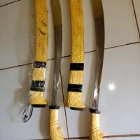 Parang banjar per cacing kupas ( cukur rambut )
