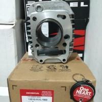 Blok Seher Cylinder Assy Standar Honda Supra X 125 Karbu Kir Asv 15617