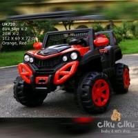 mobil mainan aki Jeep spider Unikid UK 720 mobil aki mainan anak