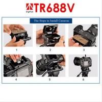 SALE Digipod TR 688 V Lightweight Video Tripod
