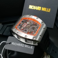 Best Seller Richard Mille Rm 11-03 Fm Swiss Clone 1.1 Silver Red Dial