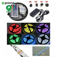 PROMO Led Strip Flexible Light Waterproof 5050 RGB 5M with Remote Cont