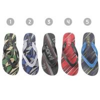 Sandal Jepit CARVIL Flip FLop Graphic Rubber Thongs ORIGINAL