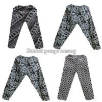 celana panjang batik Betawi/celana Boim untuk dewasa