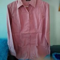 baju atasan kemeja kerja wanita dust size L ori preloved second bekas