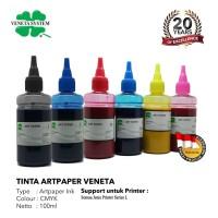 ART PAPER INK FOR PRINT HEAD EPSON 100 ML - SET 6 WARNA