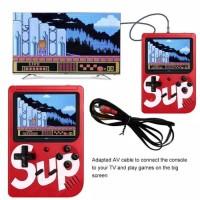Game Boy Game ORIGINAL Console 3inch 400 Retro FC Classic Merah