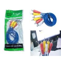 KUKE Kabel audio video jack Rca 3-3 / Kabel av video 3in3 DVD to tv
