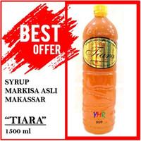 Sirup Markisa TIARA asli Makassar / Markisa asli berbulir 1500 ml