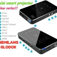 MINI SMART PROJEKTOR/mini smart proyektor/DLP/projector mini proyector