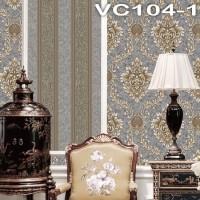 Wallpaper Dinding Classic Garis VICTORY VC104-1 - VC104-5