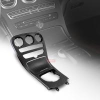Permaisuri Consul Panel Carbon Black for Mercedes Benz C-Class W205