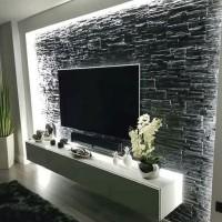 Laci gantung minimalis /meja tv gantung